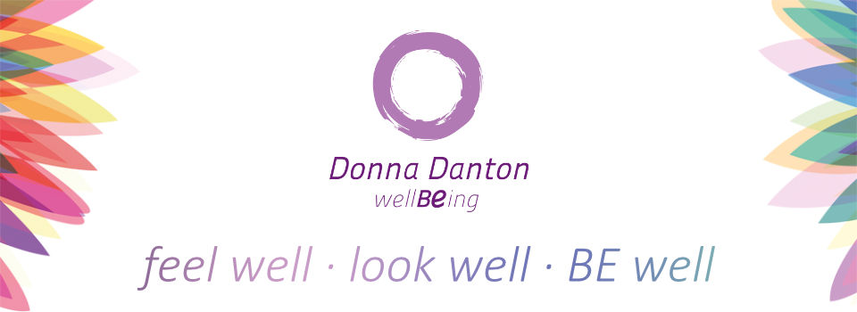 wellBEing - Donna Danton - feel well - look well - BE well