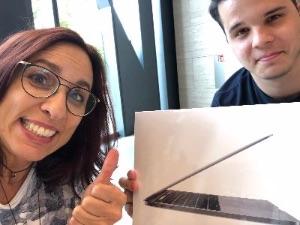 Ein MacBook Pro für meine Reisen :-)