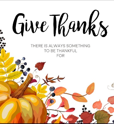 …..always something to BE thankful for.